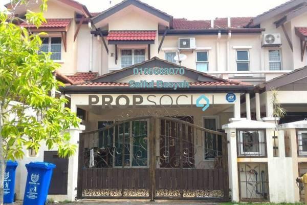 For Sale Terrace at Jasmin, Denai Alam Freehold Semi Furnished 4R/3B 750k
