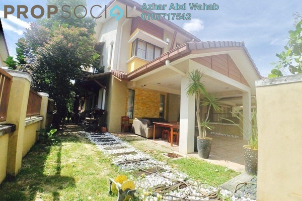 For Sale Terrace at Garden Park Homes, Cahaya SPK Leasehold Semi Furnished 5R/5B 750k