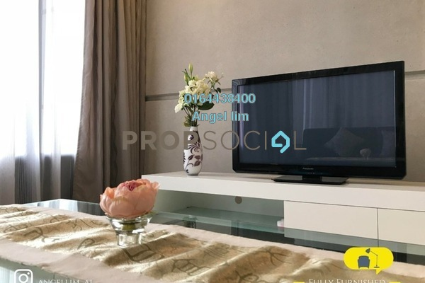 For Rent Condominium at The Troika, KLCC Freehold Fully Furnished 2R/2B 7.5k