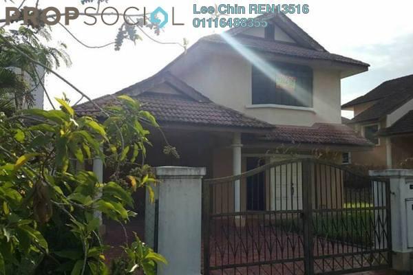 For Sale Terrace at Taman Hulu Langat Jaya, Batu 9 Cheras Freehold Semi Furnished 4R/4B 1.02m