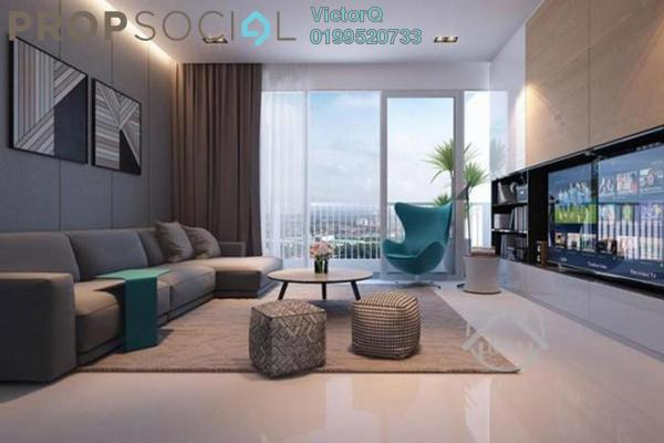 For Sale Condominium at Gravit8, Klang Freehold Fully Furnished 2R/2B 390k
