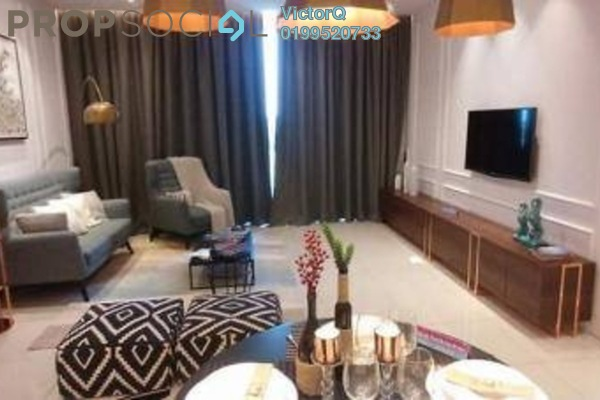 For Sale Condominium at Gravit8, Klang Freehold Fully Furnished 3R/2B 471k
