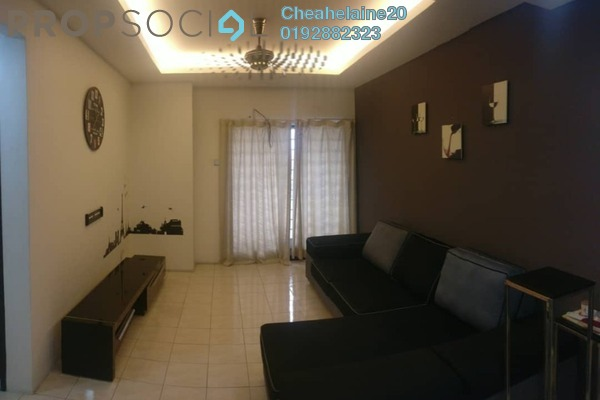 For Sale Apartment at Bougainvilla, Segambut Freehold Semi Furnished 3R/2B 435k