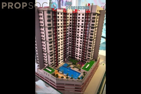For Sale Condominium at PJS 11, Bandar Sunway Leasehold Unfurnished 4R/3B 473k