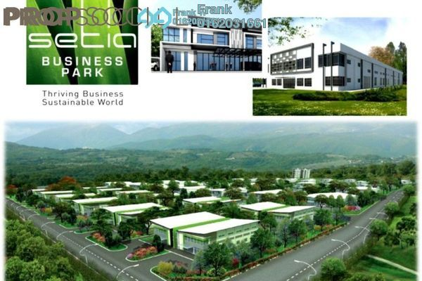 For Sale Factory at Setia Business Park, Johor Bahru Freehold Unfurnished 0R/0B 1.93m