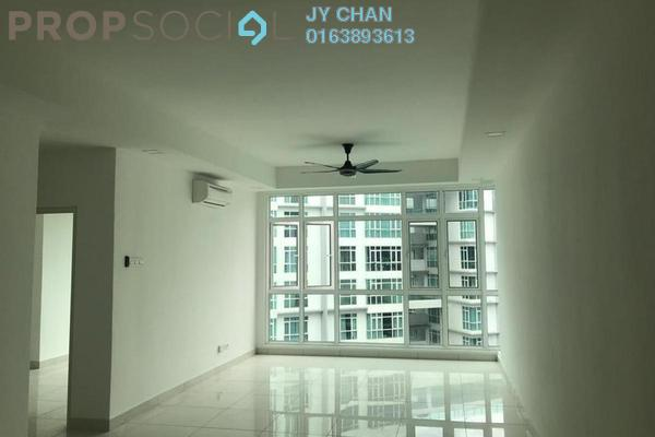 For Rent Condominium at Central Residence, Sungai Besi Freehold Semi Furnished 2R/2B 1.55k