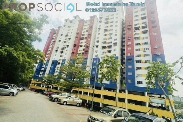 For Sale Apartment at Pangsapuri Sri Malaysia, Sungai Besi Leasehold Unfurnished 3R/2B 185k