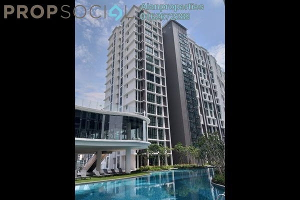 For Sale Serviced Residence at H2O Residences, Ara Damansara Freehold Semi Furnished 3R/2B 630k