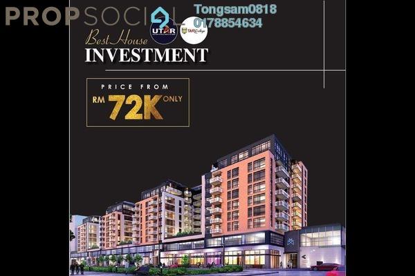 For Sale Condominium at D'sara Villas, Bandar Sri Damansara Freehold Fully Furnished 2R/1B 72k