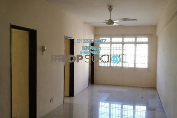 For Sale Apartment at Taman Segar Perdana, Cheras Freehold Semi Furnished 3R/2B 205k