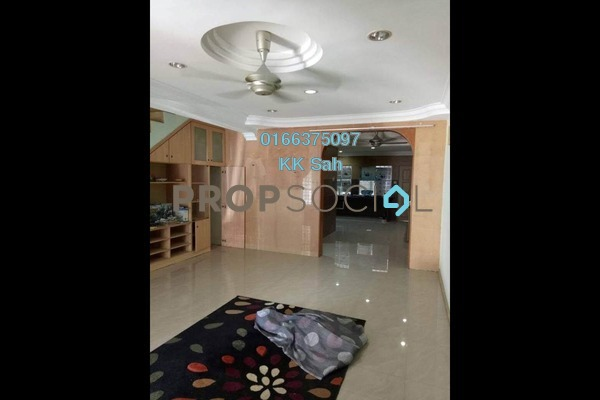 For Sale Link at Section 8, Bandar Mahkota Cheras Freehold Semi Furnished 4R/3B 505k