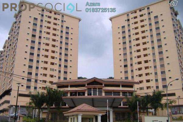 For Sale Condominium at Putra Villa, Gombak Freehold Fully Furnished 3R/2B 490k