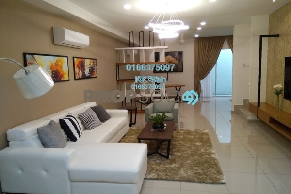 For Sale Terrace at Kaseh Heights, Semenyih Freehold Unfurnished 4R/3B 699k