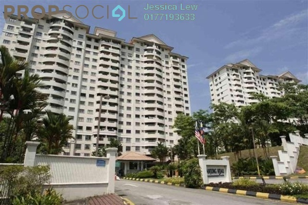 For Sale Condominium at Anjung Hijau, Bukit Jalil Freehold Fully Furnished 2R/2B 500k