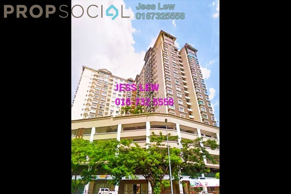 For Rent Serviced Residence at 1 Petaling, Sungai Besi Freehold Semi Furnished 3R/2B 1.6k