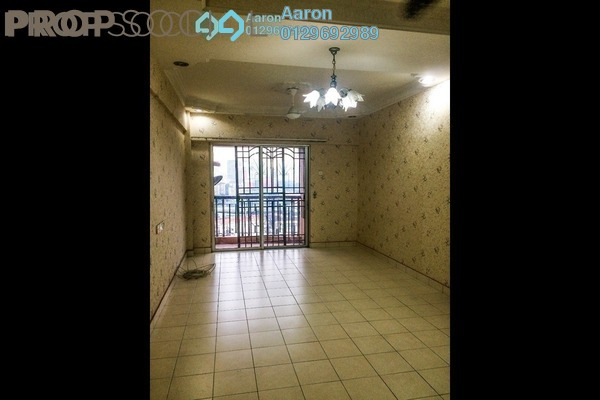 For Sale Condominium at Villa Tropika @ Pudu Impian II, Cheras Freehold Semi Furnished 3R/2B 370k