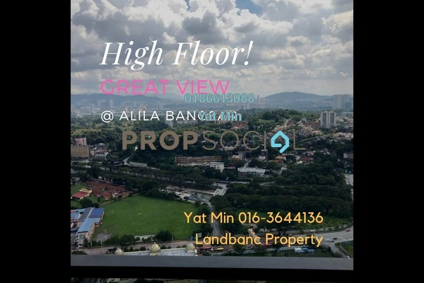 For Rent Serviced Residence at The Establishment, Brickfields Freehold Fully Furnished 1R/1B 2.5k