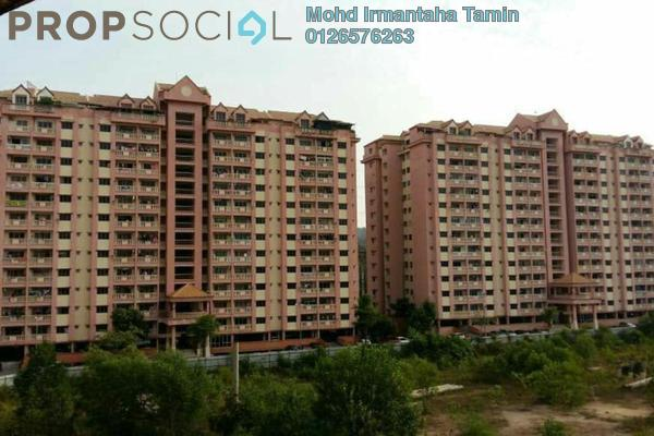 For Sale Apartment at Taman Anggerik Villa, Kajang Freehold Semi Furnished 3R/2B 265k