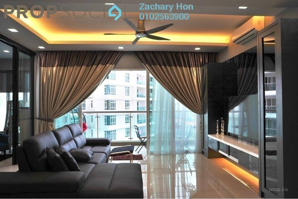 For Rent Condominium at Royal Regent, Dutamas Freehold Semi Furnished 2R/2B 1.9k
