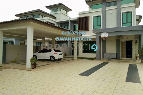 For Rent Semi-Detached at Ivory Villas, Mantin Freehold Fully Furnished 7R/7B 5k