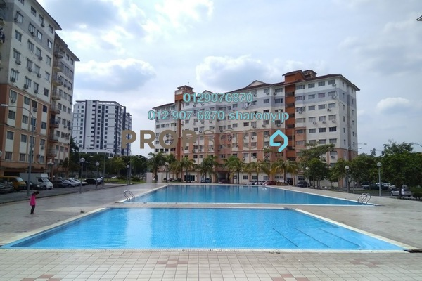 For Sale Condominium at Sri Hijau, Bandar Mahkota Cheras Freehold Unfurnished 3R/2B 280k