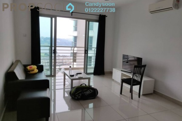 For Rent Condominium at Greenz @ One South, Seri Kembangan Freehold Fully Furnished 3R/2B 2.4k