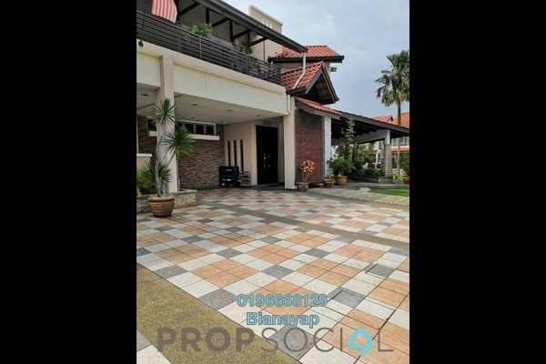 For Sale Bungalow at Jelutong Heights, Bukit Jelutong Freehold Fully Furnished 8R/8B 6m