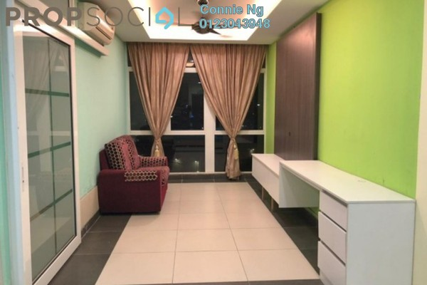 For Rent SoHo/Studio at Avenue Crest, Shah Alam Freehold Fully Furnished 0R/1B 1.3k