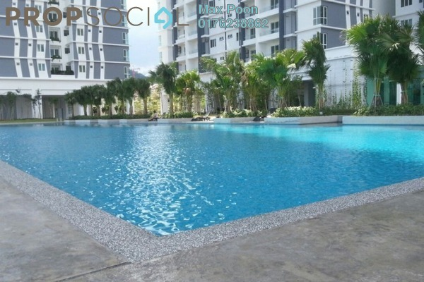 For Sale Condominium at Scenaria, Segambut Freehold Semi Furnished 3R/3B 800k