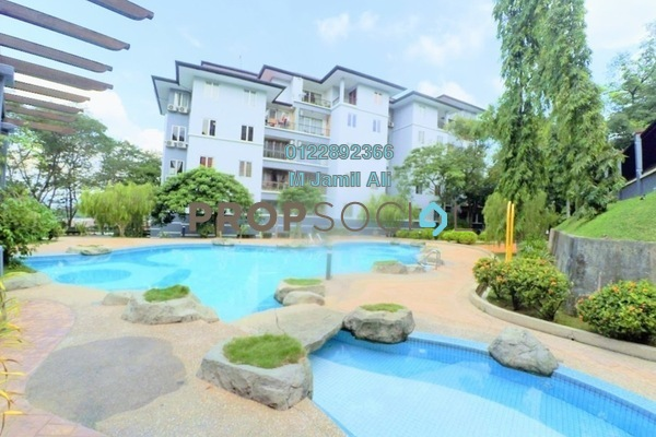For Rent Condominium at Sri Lojing, Wangsa Maju Freehold Semi Furnished 3R/2B 2.1k