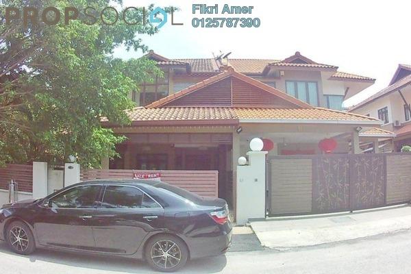For Sale Terrace at Taman Sri Ukay, Ukay Freehold Semi Furnished 6R/5B 2m