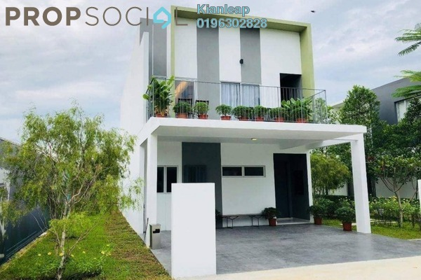 For Sale Terrace at Cybersouth, Dengkil Freehold Unfurnished 4R/3B 669k