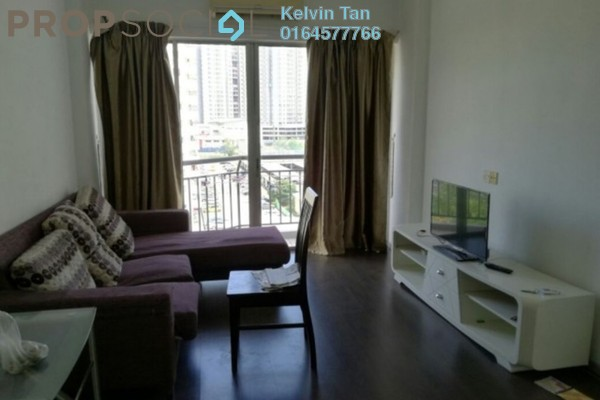 For Rent Condominium at Villa Emas, Bayan Indah Freehold Fully Furnished 3R/2B 1.3k