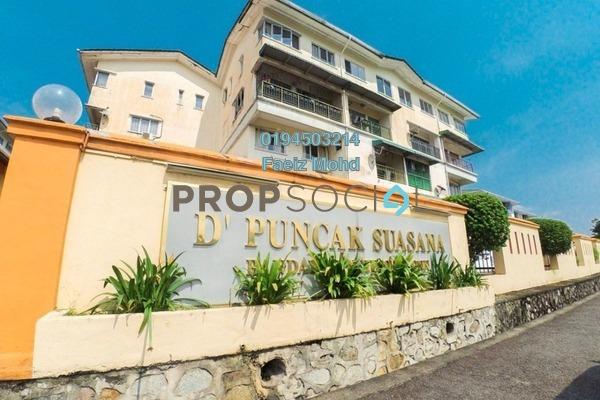 For Sale Duplex at D'Puncak Suasana, Bandar Tun Hussein Onn Freehold Fully Furnished 3R/2B 355k
