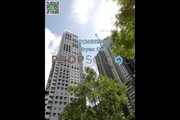For Rent Apartment at Taman Bukit Erskine, Tanjung Tokong Freehold Unfurnished 3R/1B 650translationmissing:en.pricing.unit