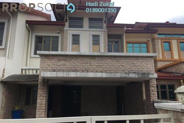 For Sale Terrace at Kubah, Bukit Jelutong Freehold Semi Furnished 4R/4B 1.22m