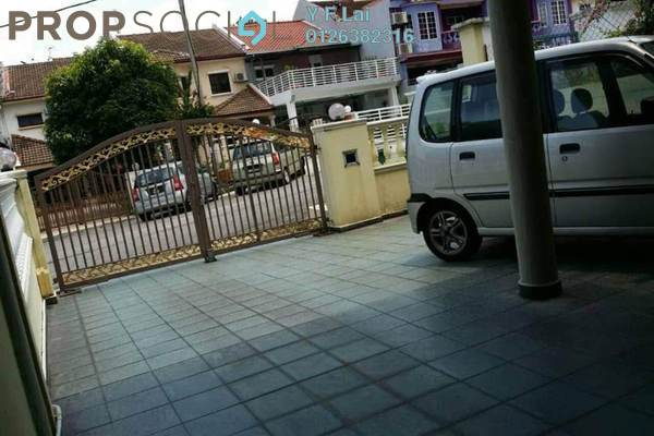 For Sale Terrace at Taman Orkid Desa, Cheras Freehold Semi Furnished 4R/3B 750k