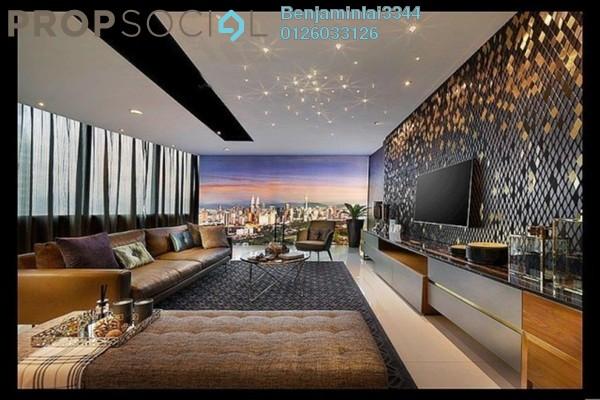 For Sale Serviced Residence at MET 1 Residences @ KL Metropolis, Dutamas Freehold Semi Furnished 3R/3B 1.69m
