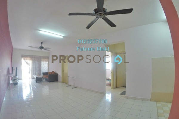 For Sale Apartment at Sri Gotong Apartment, Selayang Freehold Semi Furnished 3R/2B 260k
