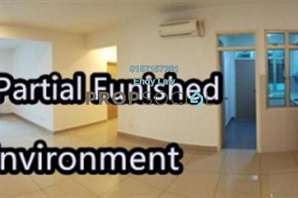 For Rent Condominium at Austin Suites, Tebrau Freehold Semi Furnished 3R/2B 1.8k