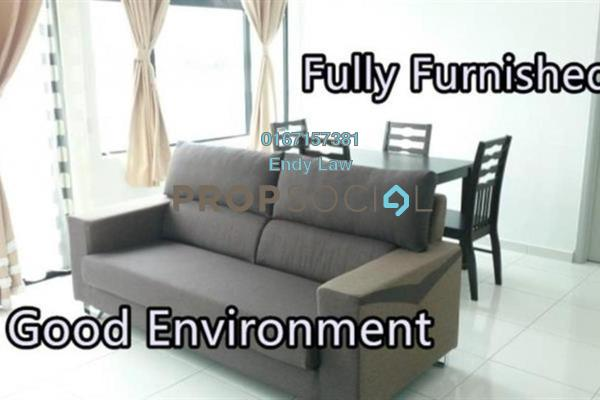 For Rent Condominium at Sky Suites @ Meldrum Hills, Johor Bahru Freehold Fully Furnished 1R/1B 1.6k