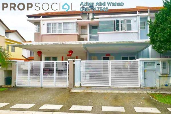 For Sale Terrace at Setia Impian, Setia Alam Freehold Semi Furnished 4R/1B 695k