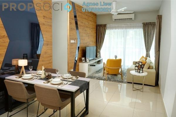 For Sale Condominium at Razak City Residences, Sungai Besi Freehold Semi Furnished 3R/2B 439k