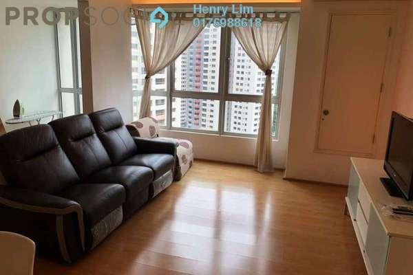 For Rent Condominium at i-Zen Kiara I, Mont Kiara Freehold Fully Furnished 2R/2B 3.2k