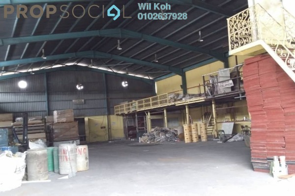 For Sale Factory at Taman Cheras Jaya, Balakong Leasehold Semi Furnished 0R/0B 4.95m