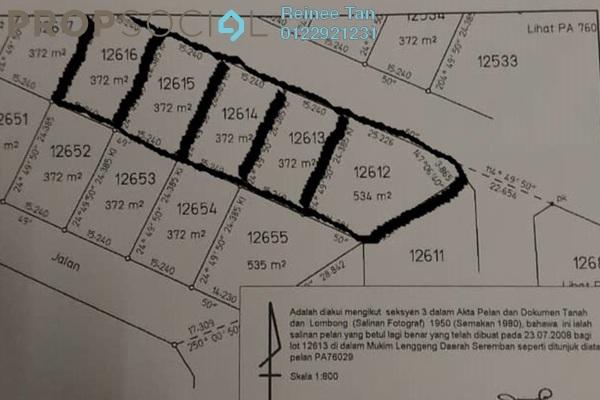 For Sale Land at Lenggeng, Negeri Sembilan Freehold Unfurnished 0R/0B 168k