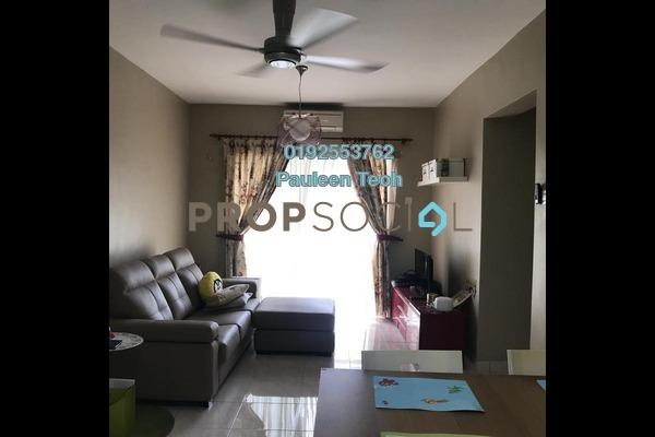 For Sale Condominium at Anggun Puri, Dutamas Freehold Fully Furnished 3R/2B 500k