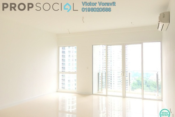 For Rent Condominium at Pavilion Hilltop, Mont Kiara Freehold Semi Furnished 4R/4B 7k