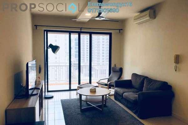 For Rent Condominium at Casa Kiara I, Mont Kiara Freehold Fully Furnished 4R/3B 3.3k