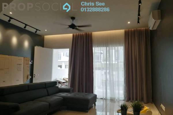 For Sale Terrace at Acacia Park, Rawang Leasehold Fully Furnished 4R/3B 500k